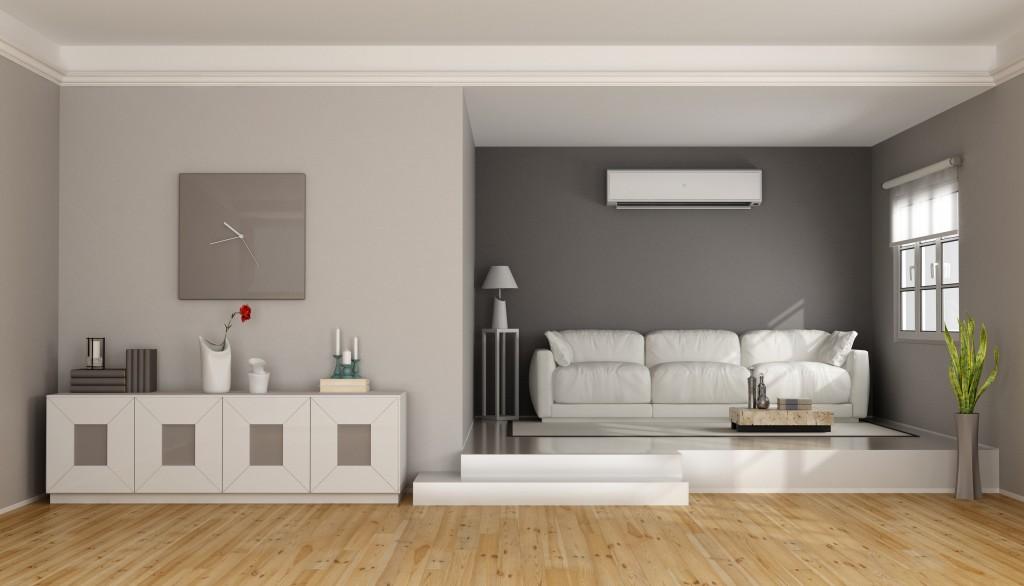 A minimalist living room
