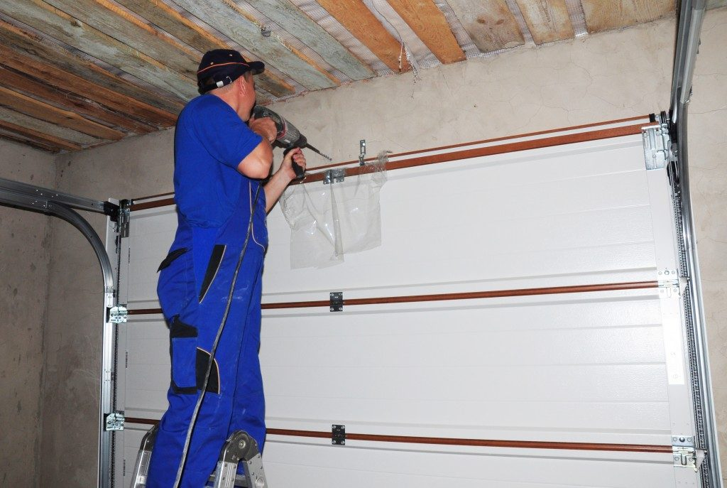 installing a garage