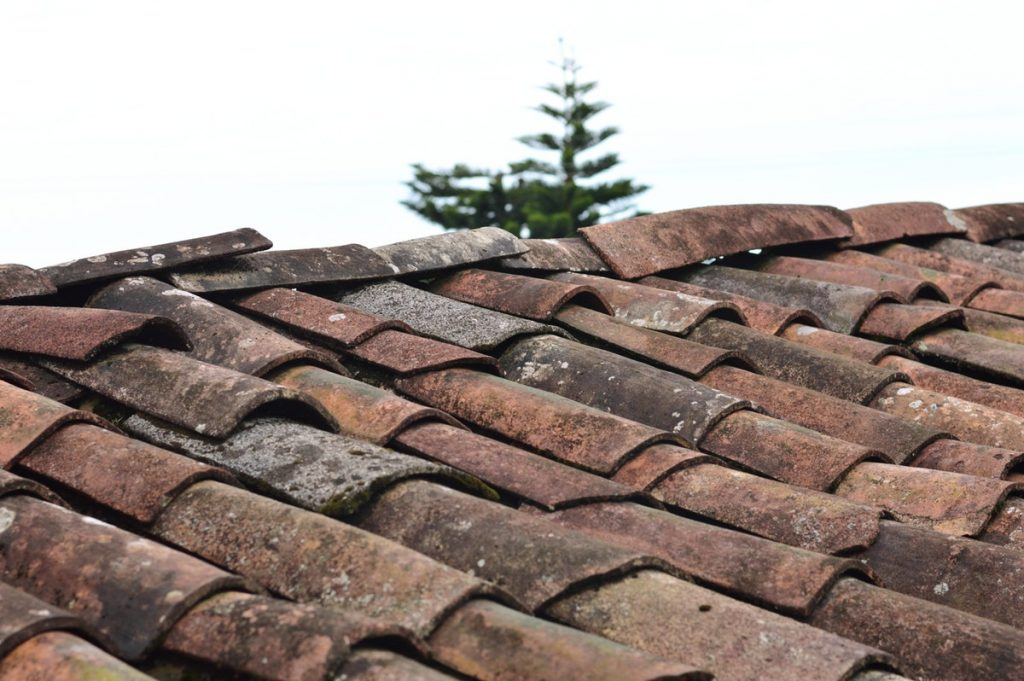 Old roofing