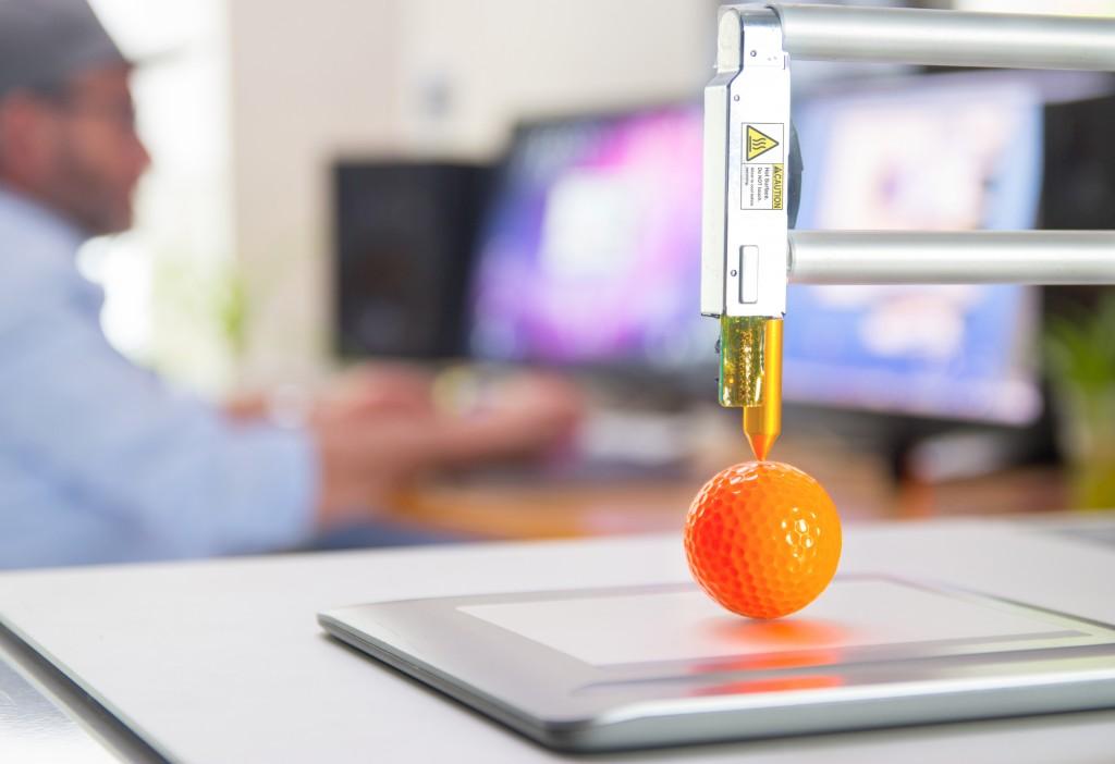 3D printing orange ball