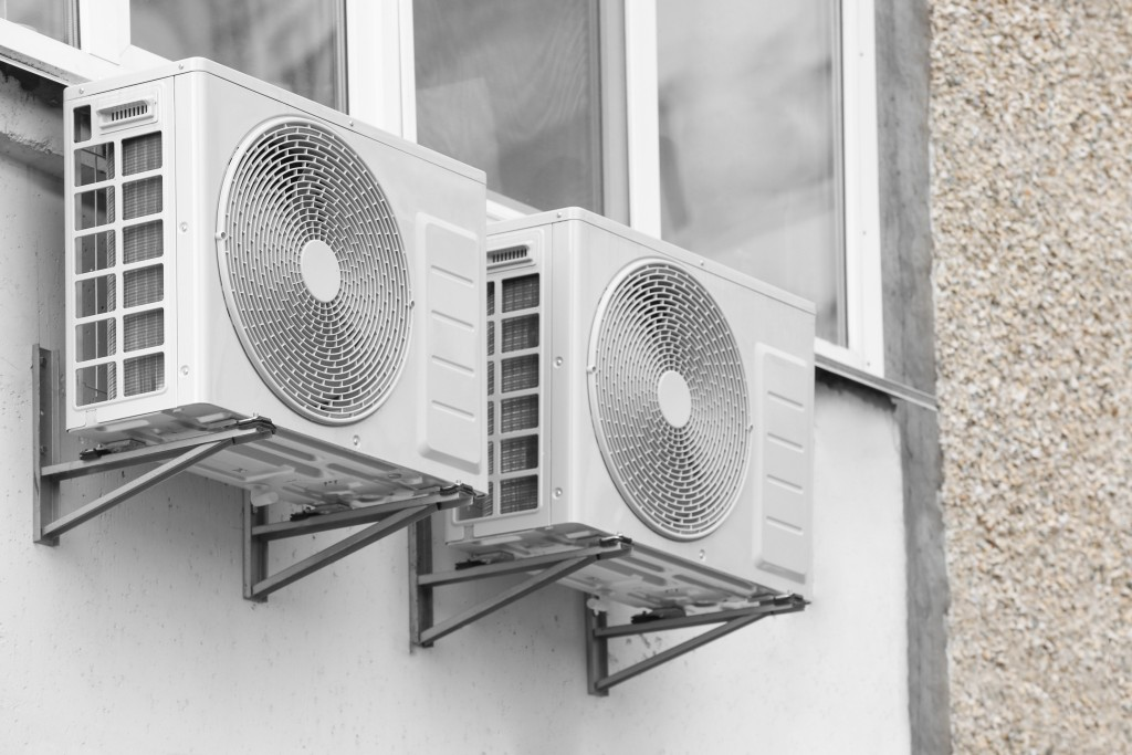 installed ventilations