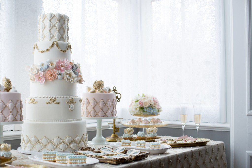 cakes and desserts for wedding