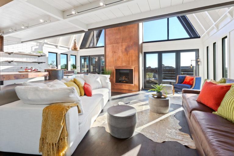 modern open plan home