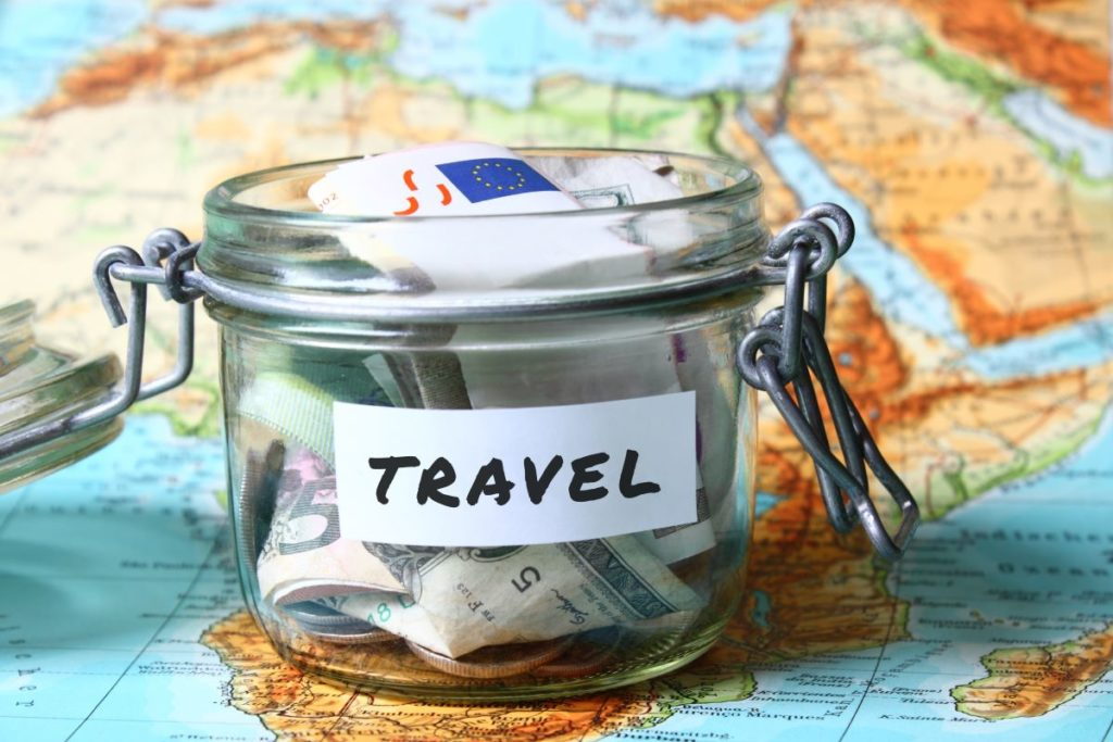 travel jar money