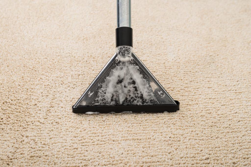 power washing carpet