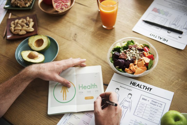 a person with a health regimen