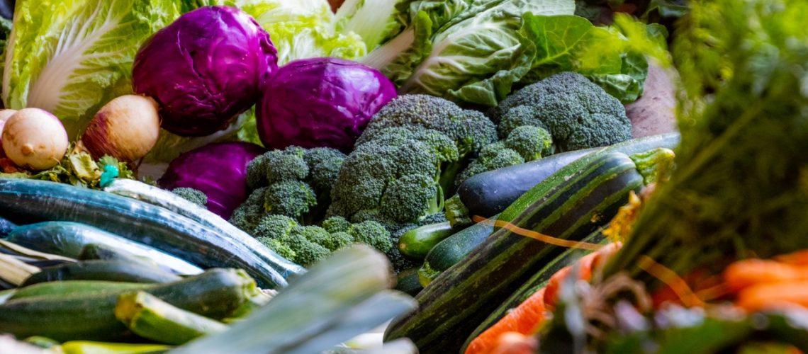 assorted vegetables together
